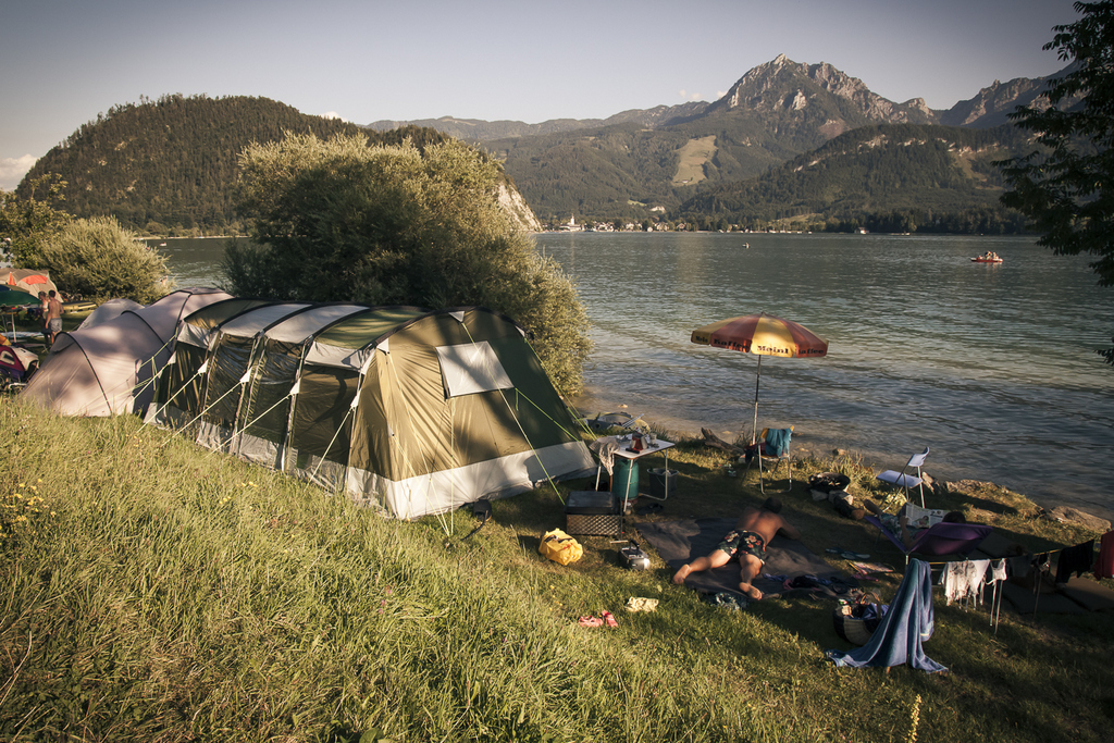 camping entspannen
